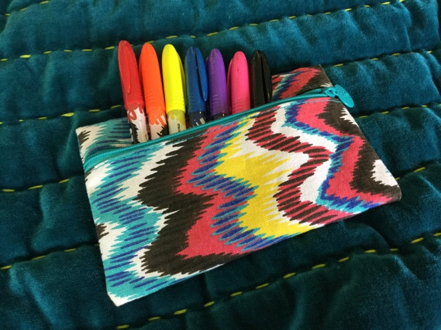 Ipsy Glam Bag Sharpie Pouch